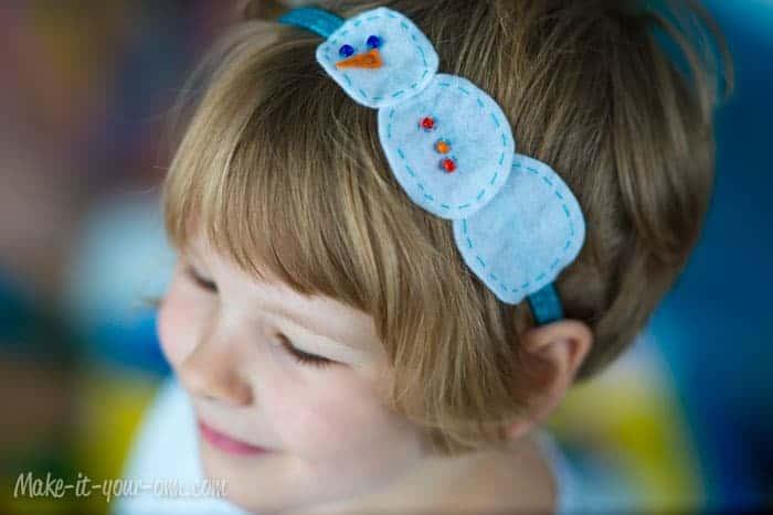 Silvery Snow Headband