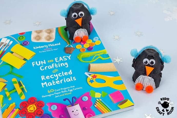 Egg Box Penguin Craft Kids Craft Room