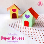 3D Paper House Craft