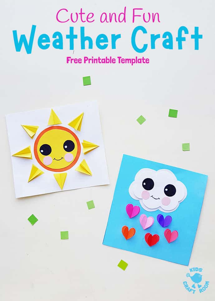 Paper Weather Crafts pin 1