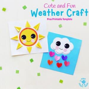 Cute and Fun Paper Weather Crafts