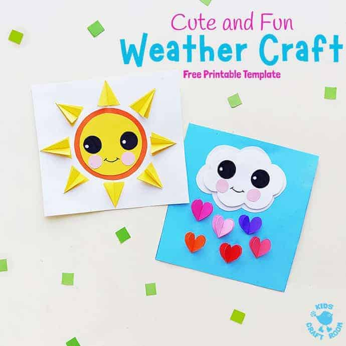 Paper Weather Crafts pin 2