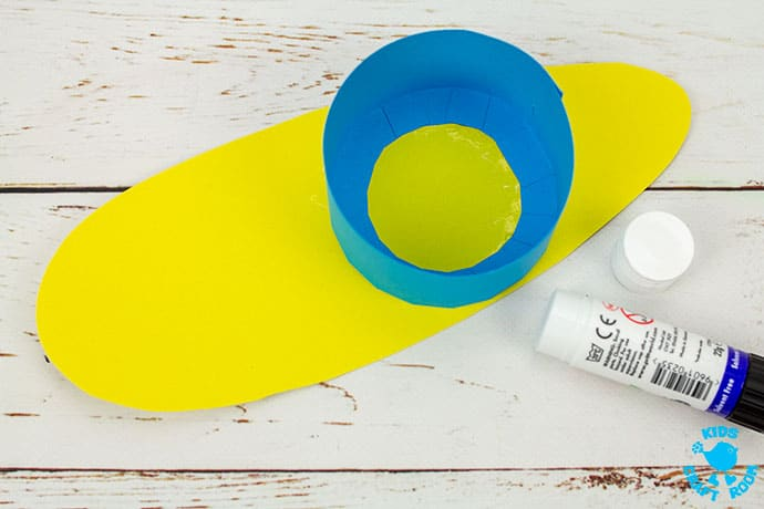 3D Paper Snail Craft step 5
