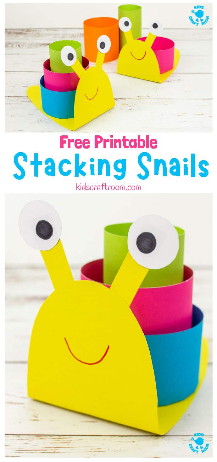 3D Paper Snail Craft pin 3