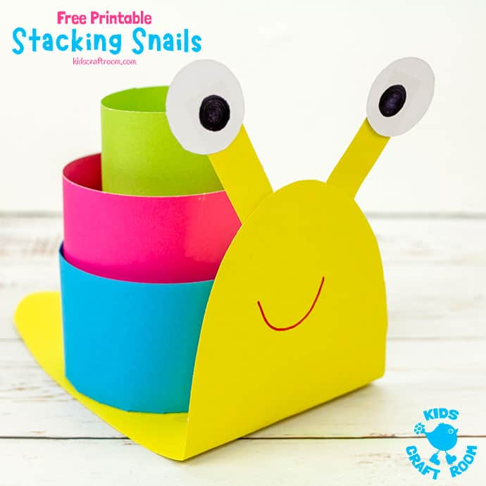 3D Paper Snail Craft