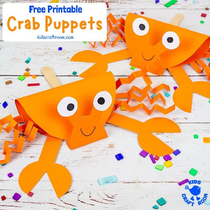 Crab Puppet Craft