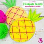 Lacing Pineapple Craft