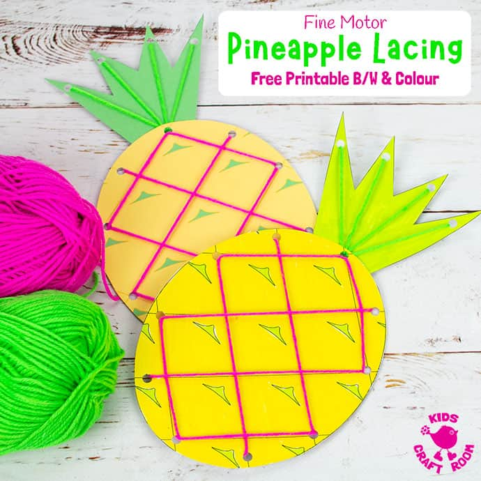 Lacing Pineapple Craft