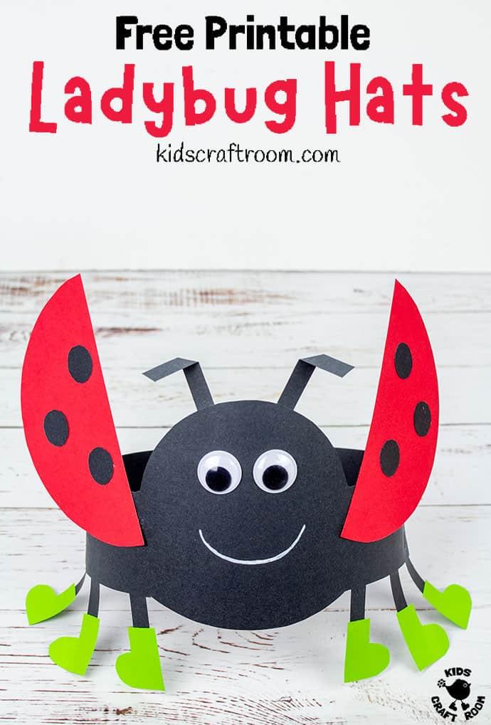 Ladybird Hat Craft pin 7