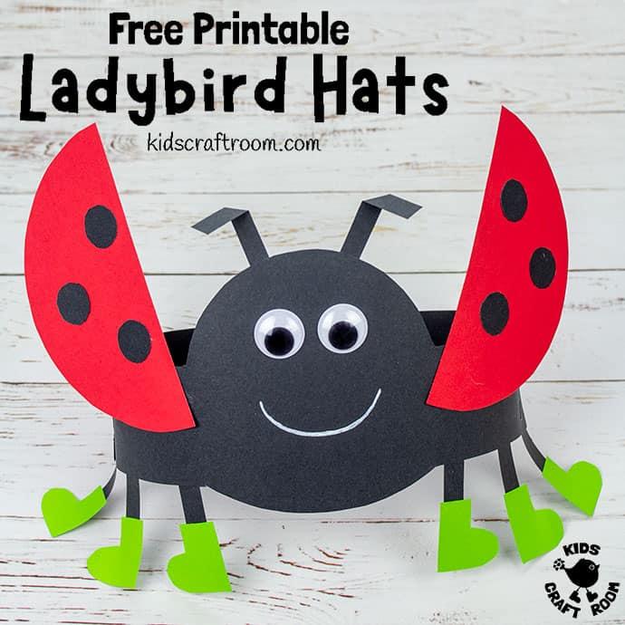 Ladybug Hat Craft pin 2