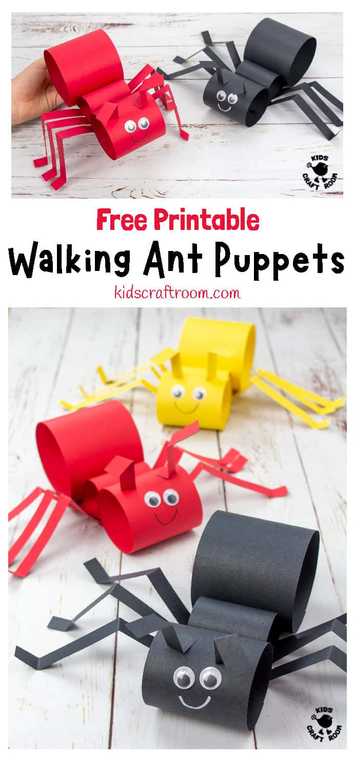 Walking Ant Craft pin 3