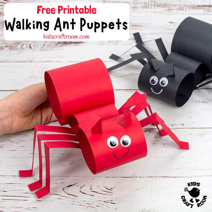 Walking Ant Craft pin 2