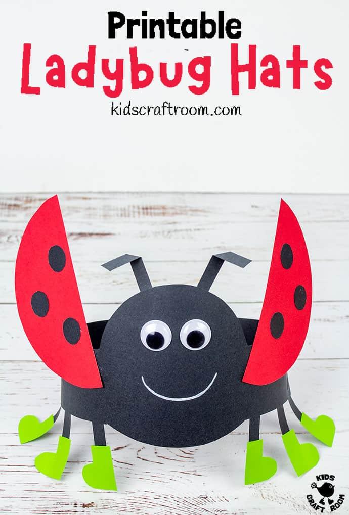 Ladybug Hat Craft pin 3