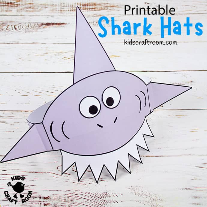 Shark Hat Craft pin image 2