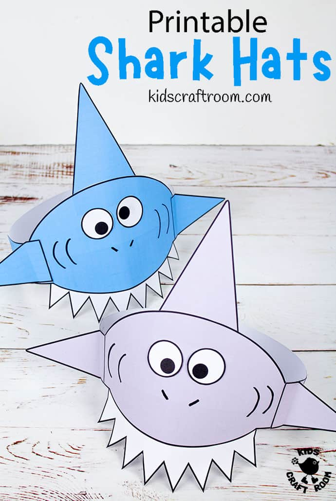 Shark Hat Craft pin image 1