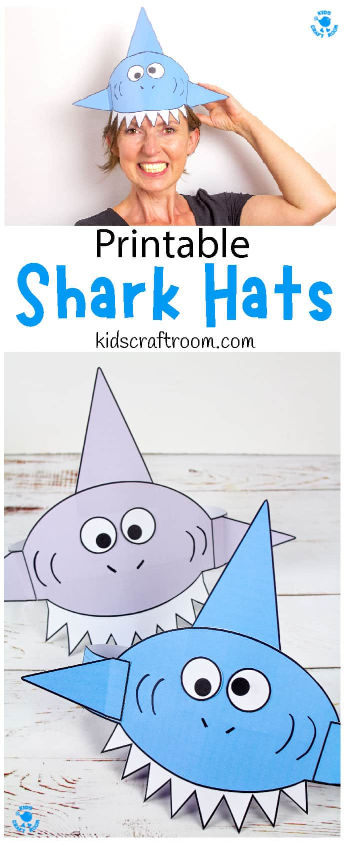 Shark Hat Craft pin image 3