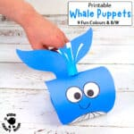 Whale Puppet Craft
