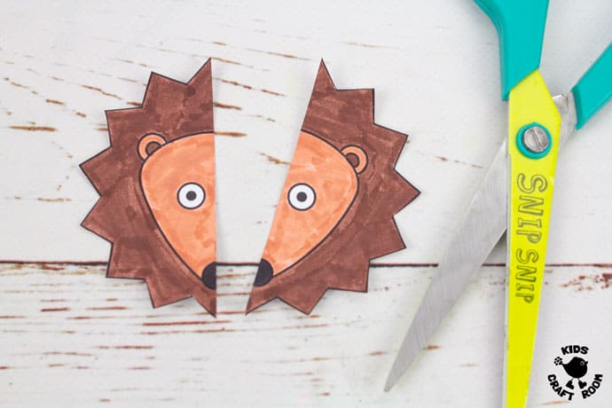 Hedgehog Paper Bracelets step 5