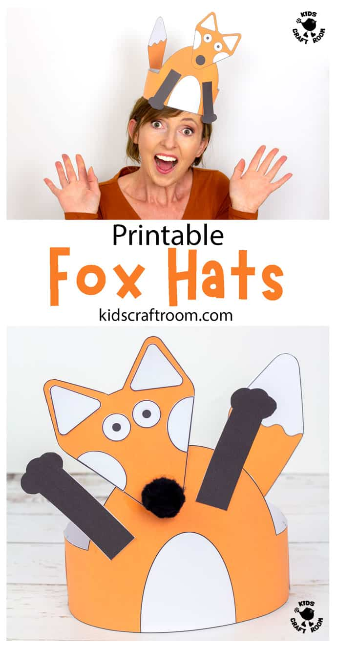 Fox Hat Craft pin image 1