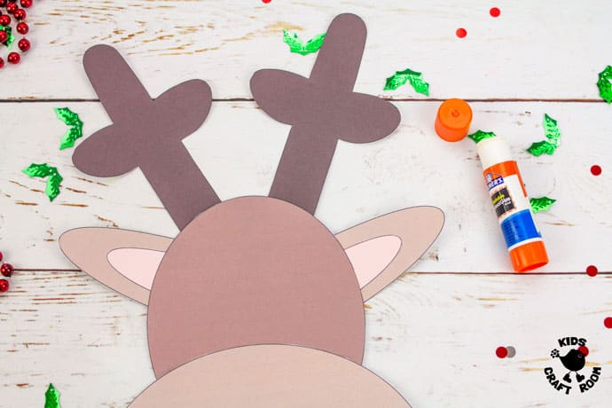 Dome Nosed Reindeer Craft step 4