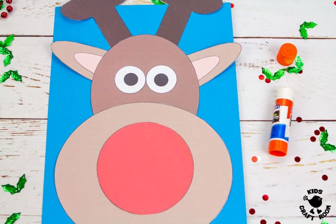 Dome Nosed Reindeer Craft step 5