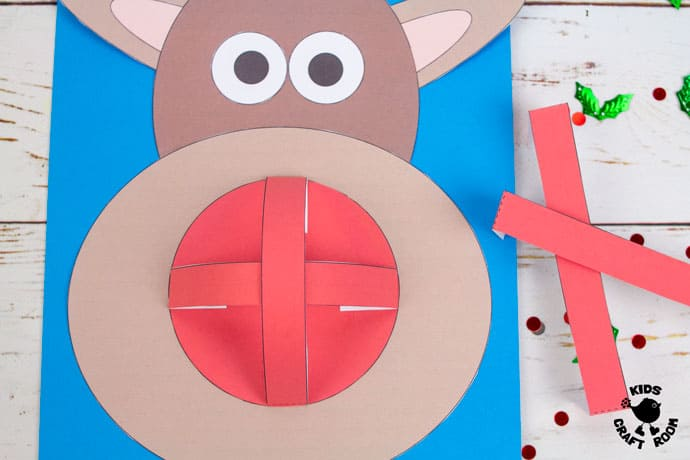 Dome Nosed Reindeer Craft step 6