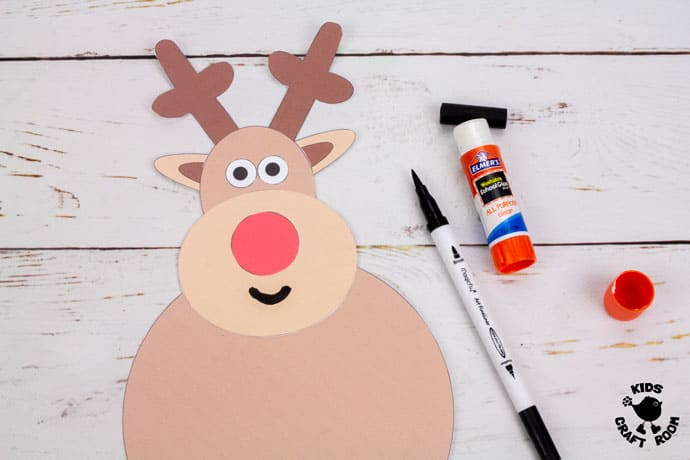 Reindeer Craft step 4