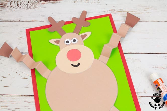 Reindeer Craft step 7