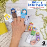 Gorgeous Nativity Finger Puppets