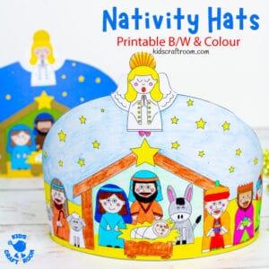 Christmas Nativity Hat Craft