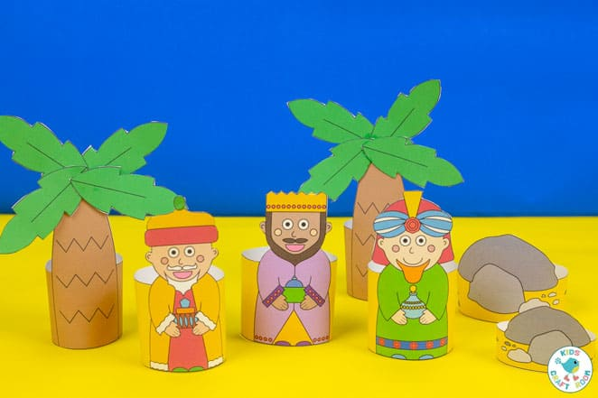 Printable Nativity Set - three kings