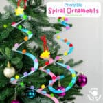 Spiral Christmas Tree Ornament Craft
