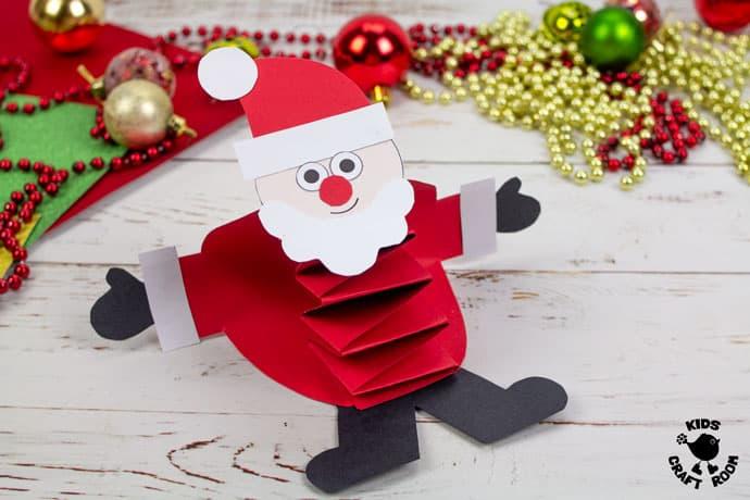 Pop Up Santa Craft step 10