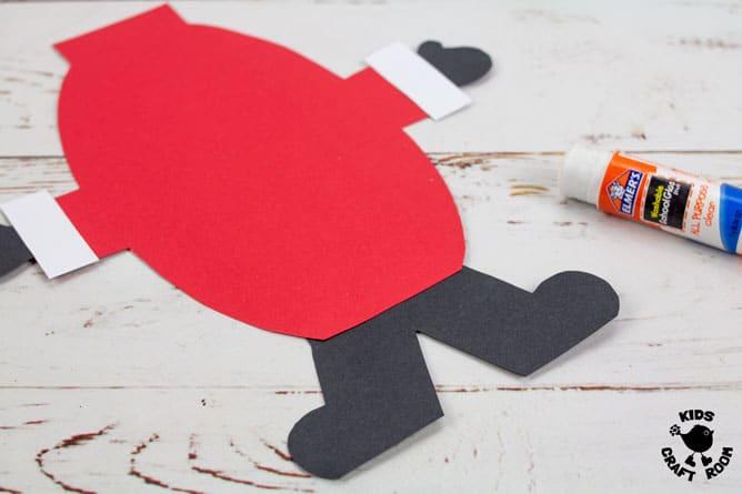 Pop Up Santa Craft step 7