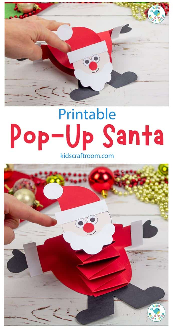 Pop Up Santa Craft pin image 1