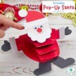 Pop Up Santa Craft