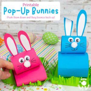 Pop Up Bunny Craft
