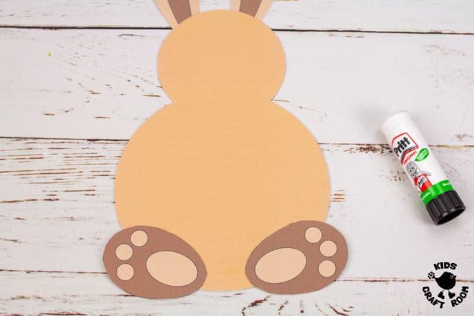 Spring Bunnies step 2.