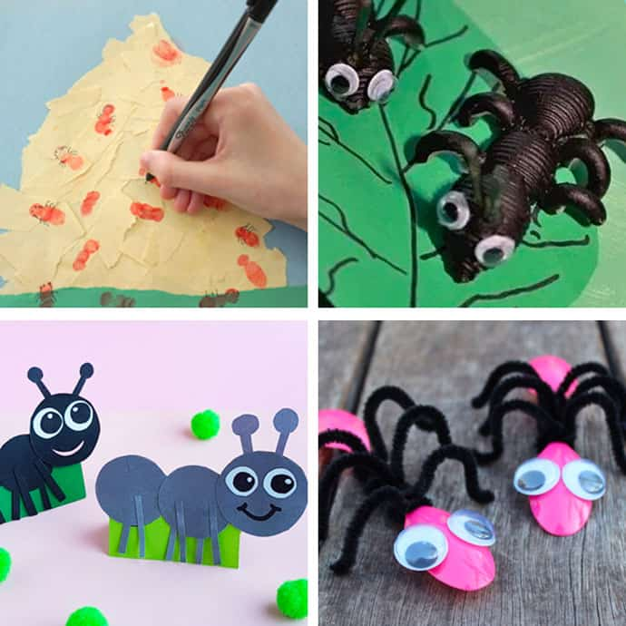 Ant Crafts For Kids 5-8