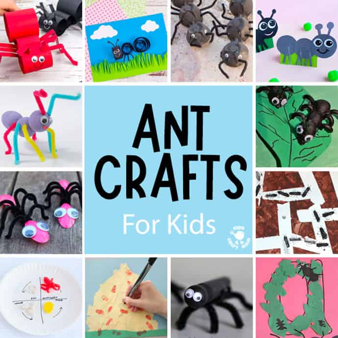 Ant Crafts For Kids square image 1.