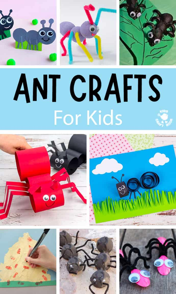 Ant Crafts For Kids pin image 1.