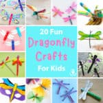 20 Pretty Dragonfly Crafts For Kids