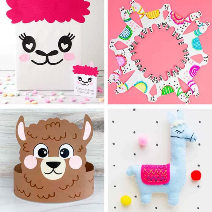 Llama Crafts For Kids 5-8.
