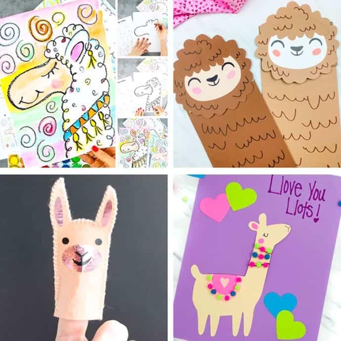 Llama Crafts For Kids 9-12.