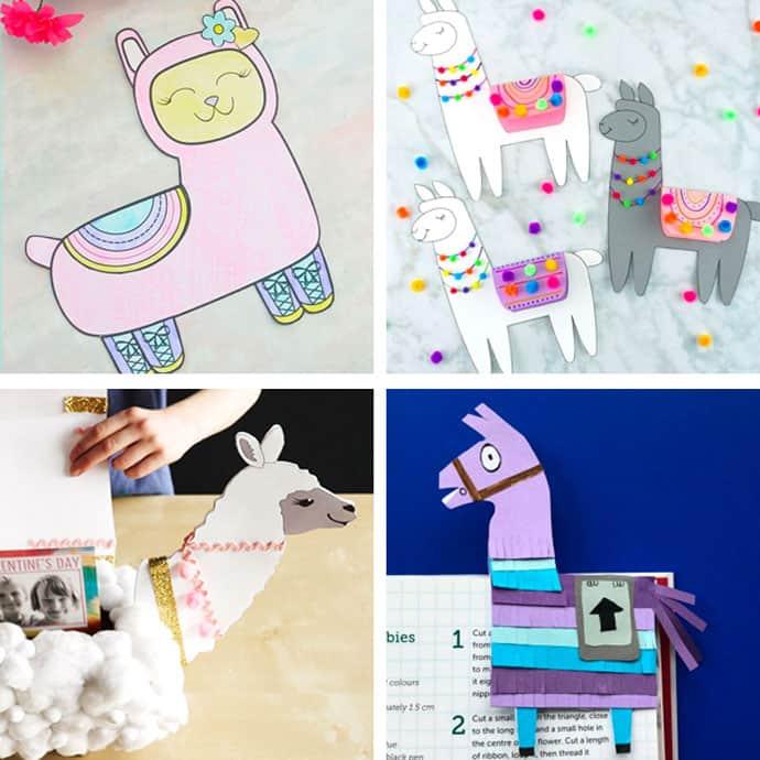 Llama Crafts For Kids 13-16.