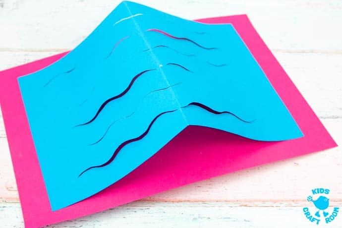Swimming Fish Craft step 4.