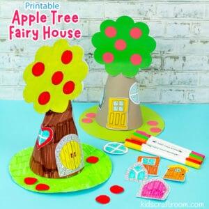 Apple Tree Fairy House Craft