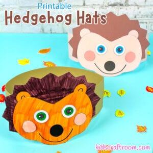 Hedgehog Hat Craft