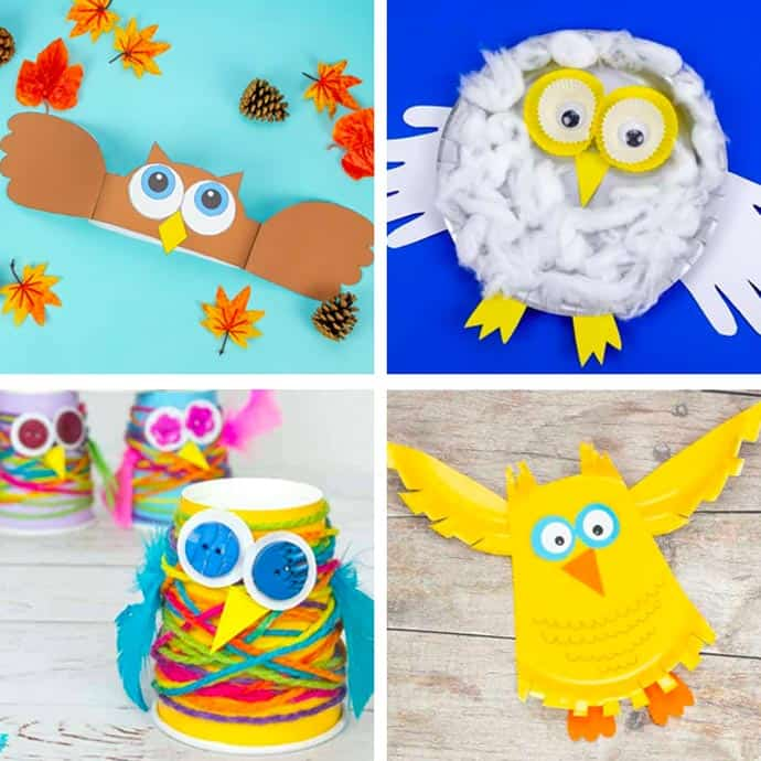 Cute Owl Craft For Kids 1 -4.