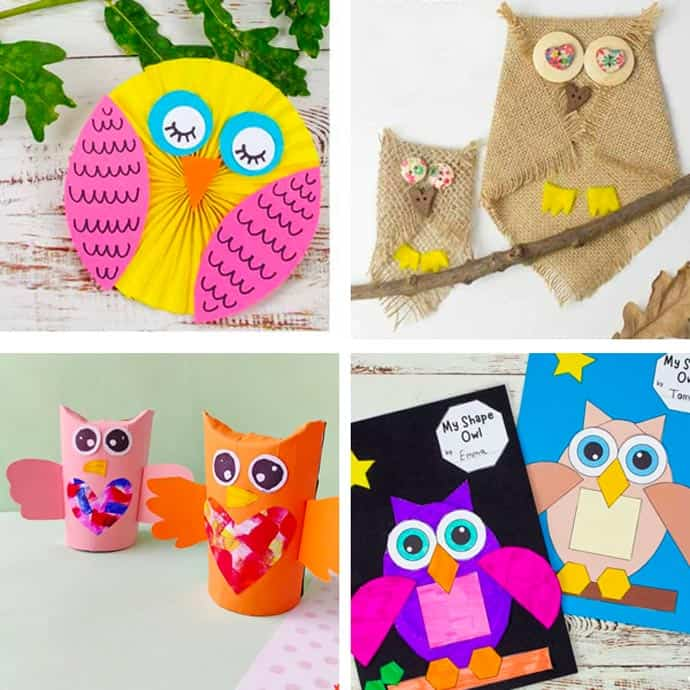 Cute Owl Craft For Kids 5-8.
